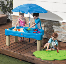 Outdoor Toys for Boys Playsets Kids Play Center Covered Sandbox Patio Activity