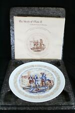 New ListingLimoges Collector Plate Ii Marquis de Lafayette North Island Hand Painted Nib