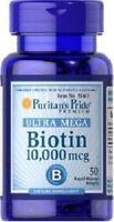 BIOTIN 10000 MCG. 50 CAPSULES AU