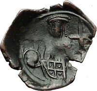 Palaeologus Dynasty 1259-1453AD - Trachy Authentic Ancient Byzantine Coin i59349