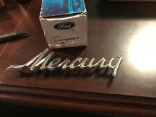 1971 MERCURY NOS NAME PLATE D1MY-16604-A MARQUIS MONTEREY