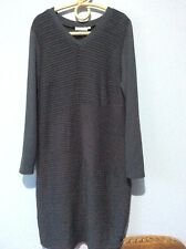 Blue Illusion Grey Dress Size M  Immaculate