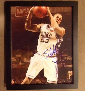 Sheldon Williams 8x10 Autograph W/ COA Duke Blue Devils Atlanta Hawks Coack K