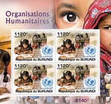 UNICEF in Viet Nam / Humanitarian Charity Stamp Sheet #3 of 5 (2011 Burundi)
