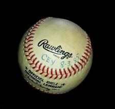 RAWLINGS OFFICIAL NATIONAL LEAGUE BASEBALL HOME RUN BALL FROM 1985