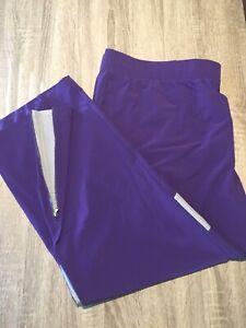 NWT Men's 4XL Under Armour H-Storm Water Resistant Purple Warm Up Pants (Z2)