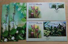 2012 Malaysia Aromatic Plants 2v Stamp & MS on 2 FDC (Melaka Cachet)