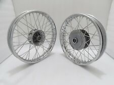 "ROYAL ENFIELD 19"" FRONT & 18"" REAR WHEEL RIM SET FOR CLASSIC C5 UCE @JUSTROYA"