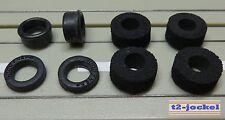 pour Circuit Routier Électrique Course Modellbahn Reifenset G-Plus/AFX Moteur