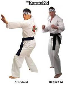 Adult Movie The Karate Kid Daniel Replica Gi Costume