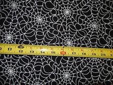 Glow In The Dark Spiderwebs Spider Web Timeless Treasures Cg 1537 Cotton fabric