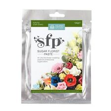 SQUIRES 100g EDIBLE SUGAR FLORIST / FLOWER / PETAL PASTE - HOLLY/IVY GREEN