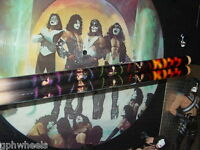 KISS DRUMSTICK DRUM STICK SET SOLO FACES ACE, PETER, PAUL, GENE -NICE!