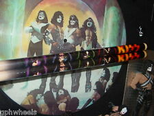 KISS DRUM STICK DRUMSTICK SET SOLO FACES ACE, PETER, PAUL, GENE -NICE!