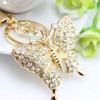 Accessories Key Chains Rhinestone Key Ring Fashion Jewelry Butterfly Key Chain