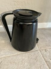 KEURIG 2.0 Black Silver K-Carafe Pitcher Insulated Coffee Pot Replacement