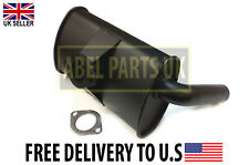 JCB PARTS -- EXHAUST BOX SILENCER (PART NO. 106/65307) INCLUDES GASKET