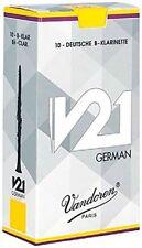 Vandoren Cr863 V21 German clarinetti Ance 10 Unità Forza 3 (h9c)