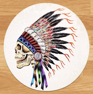 Grateful Dead Indian Chief High-quality Premium Sticker Decal 3'' Jerry Garcia