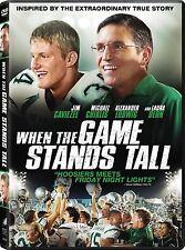 WHEN THE GAME STANDS TALL W/ JIM CAVIEZEL* HIGH SCHOOL FOOTBALL*  DVD