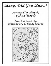 Mary Did You Know? Arranged for Harp Harp Book NEW 000121087