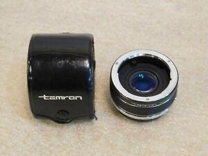 Used Vintage Tamron AUTO TELE CONVERTER Lens 2X OM For OLYMPUS Japan