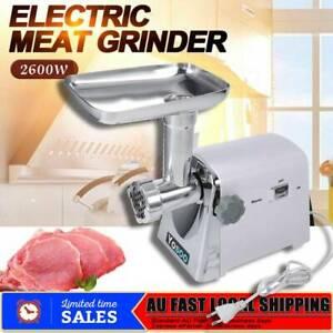 Meat Grinder Mincer Stuffer Hand Manual Sausage Filler Sauce Maker Machine Kit