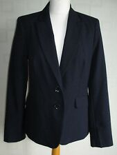 Ladies British Home Stores  Size 12 Tailored Business Jacket - Navy Blue