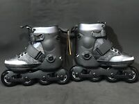 New K2 Uptown Urban Recreation Fitness Inline Black Skates Unisex Size US 6/UK 5