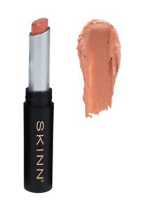 SKINN Cosmetics Skinn Lustrous Lips Satin Lipstick Flirt (Nude Pink) NEW SEALED!