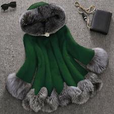 Faux Fur Coat Women Furry Fur Outerwear Winter Warm Parka Jacket Overcoat Ceng