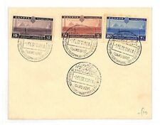 1938 Egypt TELECOMS CONFERENCE Issue Set Cairo Cover PYRAMIDS AM184