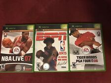 Lot Of 3 Xbox Games Sports