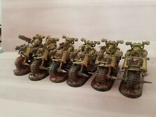 Warhammer Chaos Space Marine Death Guard Nurgle Biker Squadron + Forgeworld
