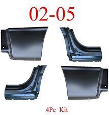 02 05 Ford Explorer 4Pc Lower Quarter Patch Set & Dog Leg Set, All 4 Pieces New!