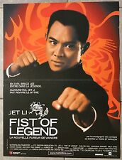 Affiche FIST OF LEGEND Gordon Chan JET LI 40x60cm *