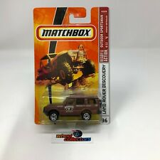 #1449  Land Rover Discovery #96 * Brown * Matchbox * HB21