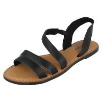 Femmes F0936 Estampé Sandales en Cuir par Leather Collection Vente dès