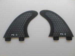 REAR QUAD set PERFORMANCE CORE surfboard fibreglass FINS (set x 2) FCS compatibl
