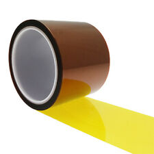 1 Ultra High Temp Polyimide Tape 60mm x 33mm,Anodising Tape, Powder Coating