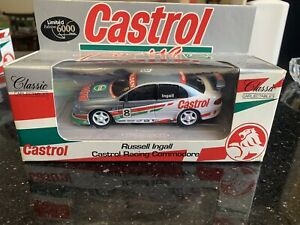 RUSSELL INGALL CASTROL RACING VT COMMODORE 1:43 Limited Edition #1008-2