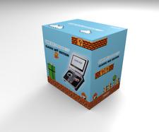 Caja consola Game Boy Advance SP NES Edition (con cartón interior) Repro