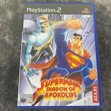 Superman Shadow of Apokolips ps2 Playstation 2 PAL Game komplett DC Action