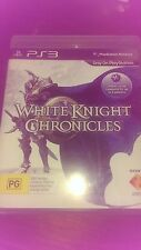 White Knight Chronicles (Sony Playstation 3, PS3) RPG Level 5 VGC