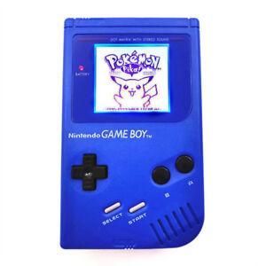 Refurbished Blue Nintendo Game Boy Original DMG-01 Backlight Backlit LCD Console