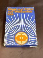 Nägel und Stifte aus der DDR Packung Nägel Original DDR Produkt #1953