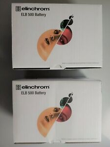 Elinchrom ELB 500 TTL 14.4V Li-Ion Battery NEW IN BOX