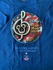 Walt Disney World Magic Music Days 2005 Participant Shirt XL