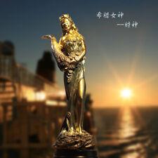 Goddess of Wealth Tyche Lady Luck Fortuna Statue Sculpture Figure Handmade12΄΄