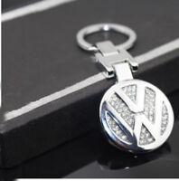 Porte Clé Bijoux Diamanté - VW Volkswagen - Elegante Badge LOGO - Idée Cadeau